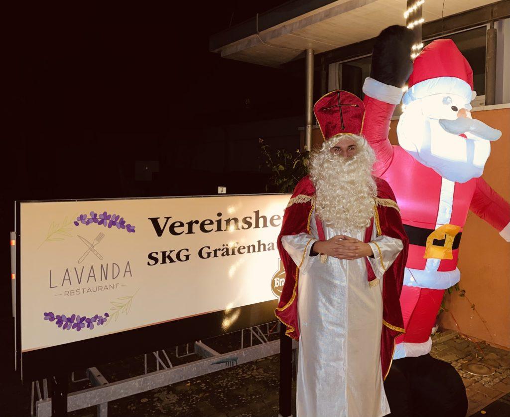 Nikolaus kommt zu Besuch!